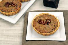 Paleo Chocolate Pecan Tart
