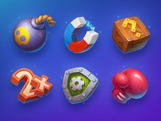 Game design 436708495117976208 - Game Icons by NestStrix Art Source by lednart Bomb Games, Fun Games, Game Icon Design, Level Design, Game Gui, Game Props, Game Interface, Game Concept Art, Art Icon