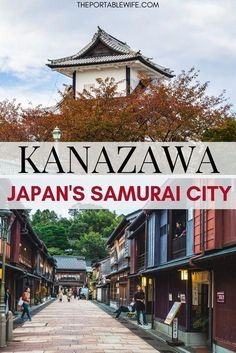 Visit Kanazawa Japan with this Kanazawa day trip itinerary. See the famous Higashiyama chaya district, Kanazawa Castle, samurai house, and Kenrokuen garden. Then, eat delicious Kanazawa food and learn about the famous Japan samurai city. Find out why Kana Japan Travel Guide, Tokyo Travel, Asia Travel, Travel Vlog, Disney Travel, Cruise Travel, Florida Travel, California Travel, European Travel