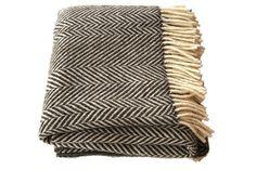 jacob chevron stripe blanket