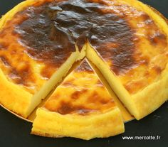 Parisian flan without dough from Ch Michalak – tested and approved ! I recommend it to you (I doubled the proportions) Thermomix Desserts, No Cook Desserts, Delicious Desserts, Yummy Food, Chefs, Flan Dessert, Summer Dessert Recipes, Cooking Chef, Sweet Recipes