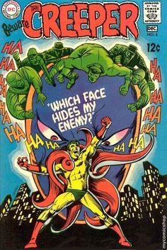 BEWARE THE CREEPER 4, STEVE DITKO,  SILVER AGE DC COMICS