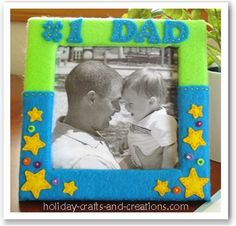 Fathers Day Gifts: Felt Frame
