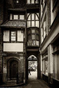 Wedged House at the Church of Saint Bartholomew the Great, London, England by Joe Daniel Price