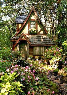 Fairytale Cottage, Garden Cottage, Cottage Homes, Wood Cottage, Witch Cottage, Tudor Cottage, Forest Cottage, Witch House, Cottage Living
