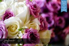 White and Purple Roses make a beautiful Bridal Bouquet Photo by Joey Ikemoto
