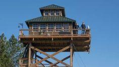 Off-Grid Lookout Tower Cabin in Tiller