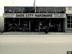 Love hardware stores?  This is the ultimate -- vintage products on shelves along with modern-day tools.  An must see in Downtown Dade City