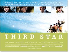 No idea where I'd hang it but it is one of my favourite films. Image of Third Star Poster
