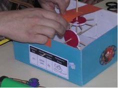 Engranajes - Experimentos con materiales cotidianos