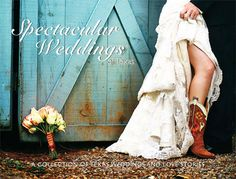 This is my favourite wedding inspiration picture... Found this book at a bookstore in Texas and fell in love!