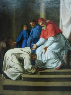 6 October – St Bruno (c 1030-1101) – Priest, Confessor, Hermit, Monk, Mystic, Founder, Philosopher, Theologian, Teacher, Advisor, Writer (c 1030 at Cologne, Germany –1101 at Torre, Calabria, Italy of natural causes). His body wasburied in the church of Saint Stephen at Torre. He wasBeatified in 1514 by Pope Leo X andCanonised on 17 February 1623 by Pope Gregory XV. Patronages –Germany, Calabria, monastic fraternities, Carthusians, trade marks, Ruthenia, possessed people.