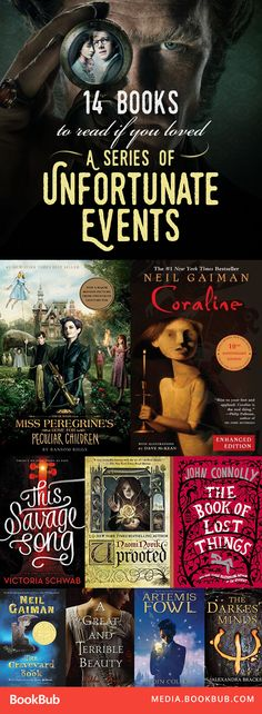 Books to read in your teens if you loved 'A Series of Unfortunate Events.' Some really great YA books to read here!
