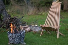 This beautiful Nordeck garden chair is craft from oak and left in its natural colour for a simple and contemporary look.