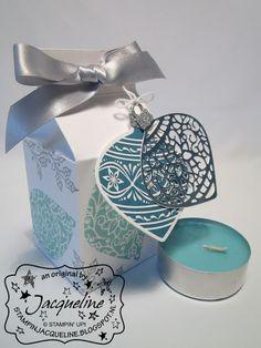 Stampin' Up! By Stampin Jacqueline: Melkpakje met Embellished Ornaments