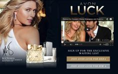 #AvonLuck coming Fall 2014 to http://ericagerlemann.avonrepresentative.com/! #mariasharapova