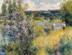 Pierre-Auguste Renoir, The Seine at Chatou, 1881