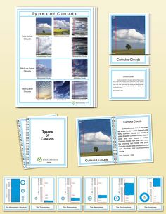 Types Clouds, Elementary | Montessori Research and Development