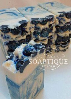 Blueberries Soap