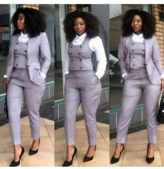 Office Outfit for Ladies - business professional outfits offices Office Outfits For Ladies, Classy Work Outfits, Chic Outfits, Fashion Outfits, Fashion Blogs, Fashion Trends, Fashion Ideas, Fashion Design, Corporate Attire