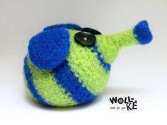 Türstopper Buchstütze von Woll-KE auf DaWanda.com