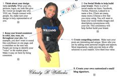 Christy R Williams: Branding Y.O.U. Branding 101: 5 Ways To Brand You