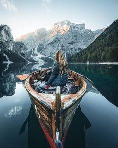 Enjoyable views Lago di Braies Italy. Photo by...
