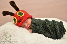 I don't know about very hungry, but definitely VERY ADORABLE!! The Very Hungry Caterpillar costume