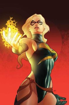Ms Marvel by Frank Martin Jr