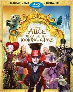 Alice Through the Looking Glass [Includes Digital Copy] [Blu-ray/DVD] [2016] - Front_Standard