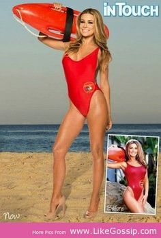 Carmen Electra' s Favourite is Baywatch Swimsuit  Click Image To Read Full News