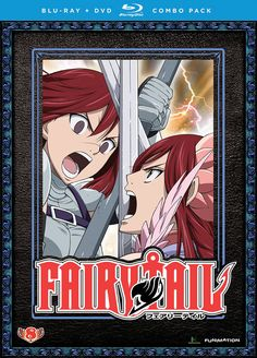 Fairy Tail DVD/Blu-ray Part 8 (Hyb) #RightStuf2014.
