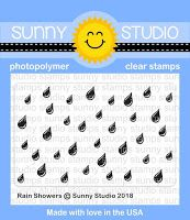 Sunny Studio Stamps: Introducing Rain Showers 2x3 Clear Background Stamps