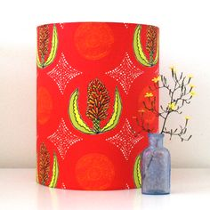 Made by Ilze - Handmade lampshade - Aloe design from Cape Flora collection