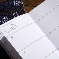 French Fern year-less planner - Ferme à Papier  - 2