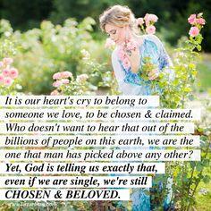 chosen and beloved