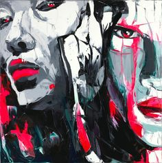 Cheap painting impasto, Buy Quality knife painting directly from China palette knife painting Suppliers: Palette knife painting portrait Palette knife Face Oil painting Impasto figure on canvas Hand painted Francoise Nielly 04 Abstract Portrait Painting, Oil Painting On Canvas, Yarn Painting, China Painting, Cheap Paintings, Oil Paintings, Palette Knife Painting, Portraits, Art Series