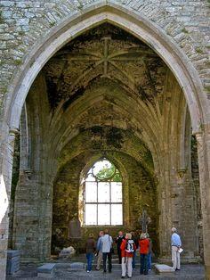 Jerpoint Abbey  - 12th century. Thomastown, Co. Kilkenny, Ireland