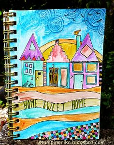 stamping rika: home sweet home