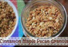 Cinnamon Maple Pecan Granola