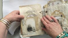 Another totally stunning Junk Journal!! ( Pt 3 )