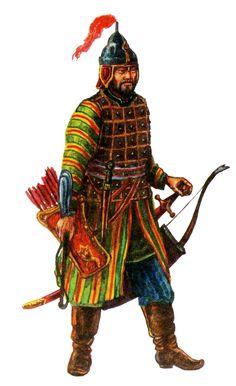 Crimean Tatar warrior, 16th century