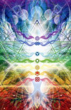 Chakra Healing Reiki Attunement - New Earth Energies Reiki Attunements Sacred Geometry Art, Sacred Art, Geometry Tattoo, Chakra Art, Chakra Healing, Tantra, Meditation, Psy Art, Spirit Science