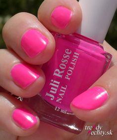 neon manicure, nail art