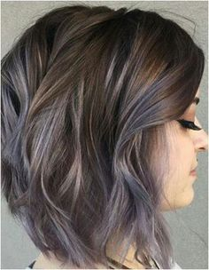 Leave Silver Bullet On Brunette Hair with Blonde highlights