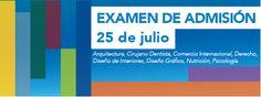 PRÓXIMO EXAMEN DE ADMISIÓN 25 DE JULIO.  INFORMES E INSCRIPCIONES AL TEL (461) 6134385 EXT 119
