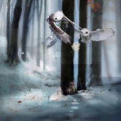 CHRIS BERENS http://www.widewalls.ch/artist/chris-berens/ #drawing #painting #surrealism