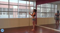 Pole Dance Tutorial - Extended Butterfly
