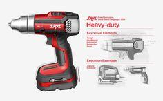 SKIL Power Tools by Harry Wang at Coroflot.com