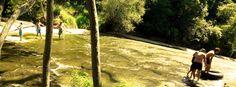Rere Falls - Rere Rock Slide
